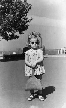 Одесса. На Приморском бульваре. 1957 г.