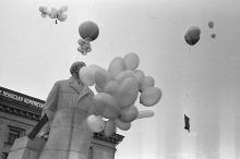 Одесса, на площади Октябрьской Революции