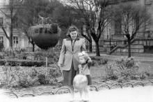 Одесса. Перед археологическим музеем. 1957 г.