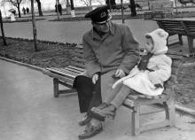 Одесса. На Приморском бульваре. 1959 г.