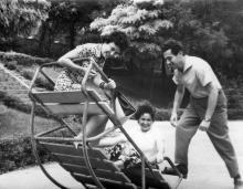 Одесса. В Лунном парке. 1965 г.