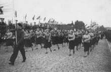 Одесса. На площади им. Октябрьской революции. 1948 г.