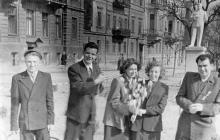 Одесса. Ул. Красной Армии, возле дома № 7. 1950-е годы