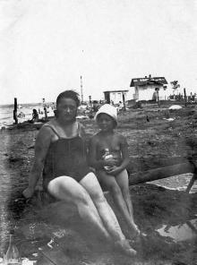 Одесса. На Куяльнике, в санатории им. Кагановича. 12 июля 1932 г.