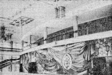 Одесса. Холл театра музыкальной комедии. Фото из газеты «Знамя коммунизма», 15 августа 1981 г.
