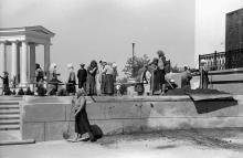 Одесса. Воронцовский дворец. Фотограф Willy Pragher. Июнь, 1943 г.