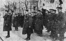 Перед Одесским Кафедральным собором. «Одесская газета», 19 апреля 1942 г.