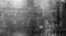 Одесса. Панихида в Кафедральном соборе. «Одесская газета», 16 мая 1942 г.