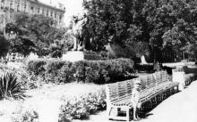 Одесса. В городском саду