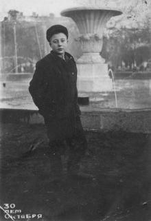 Одесса. Фонтан на площади Красной Армии. 1947 г.