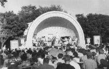 Эстрада «Ракушка» в парке Шевченко