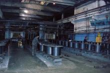 Одесса. Цех канатного завода. Фотограф Вячеслав Теняков, 1990-е годы