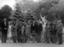 Одесса. Перед скульптурой «Лаокоон»
