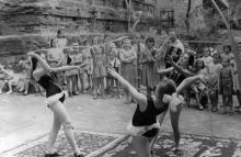 Одесса. Занятия в Пионерском парке Дворца пионеров, 1962 г.