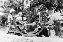 Одесса. В Пионерском парке. 1957 г.