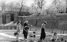Одесса. Юннаты в Пионерском парке