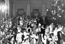 Одесса. Новогодний карнавал во Дворце пионеров. 1960 г.
