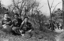 Одесса. Грот Дианы. 1957 г.