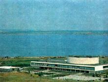 Одесса. Курзал на курорте Куяльник. Фотография из энциклопедического словаря «Курорты». 1983 г.
