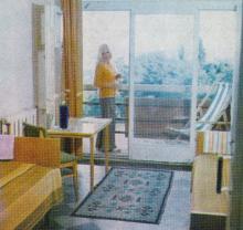 Одесса. В одной из палат санатория «Красные зори». Фотография из справочника «Курорты Одессы», 1976 г.