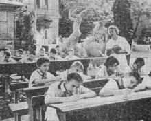 Одесса. Санаторий «Пионерский». Фотография из справочника «Курорты Одессы», 1976 г.
