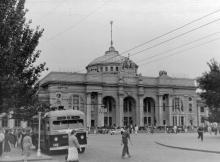 Одесса. На привокзальной площади. 1958 г.