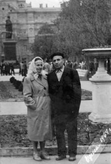 Одесса. В сквере на площади Советской Армии. 1964 г.