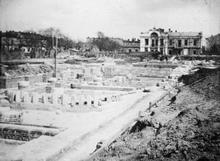Строительство Одесской семинарии. 1901 г.