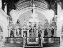 В храме Одесской семинарии. 1902 г.