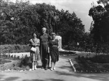 Одесса. Парк дома отдыха «Ударник» на 15-й станции Большого Фонтана. 1958 г.