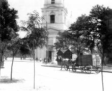 Одесса. Вид с ул. Гулевой на Спасо-Преображенский кафедральный собор
