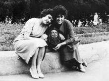 Одесса. В Кировском сквере. 1959 г.