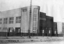 Главный корпус Одесского института механической технологии зерна и муки (Мукомольный). 1937 г.