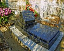 Одесса. Слободское кладбище. Могила М.С. Воронцова. 10 ноября 2006 г.