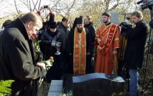 Одесса. Слободское кладбище. У могилы М.С. Воронцова. 10 ноября 2006 г.