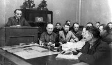 Изучение материалов XIX съезда КПСС на заводе ЗОР. Одесса. 1953. Феохари. (1745)