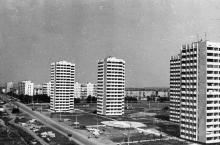 Новые дома поселка Котовского. Одесса. 1980 г. (6029)