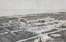 Одесса. Лузановка. Санаторий. Общий вид. Почтовая открытка. 1930-е годы