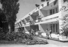 Здание дружины «Солнечная». Одесса. Фотограф Сайко. 1967 г.