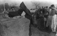 Освящение места под армянский храм. О. Владимирский. Одесса. 1993 г. (13037)