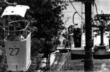 Новая подвесная канатная дорога. Одесса. 7 июня 1973 г. (7172)