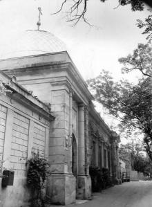 Собор украинской православной церкви на ул. Пастера. Одесса. О. Владимирский. 1992 г. (12387)