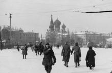 Одесса, привокзальная площадь, 1942 г.