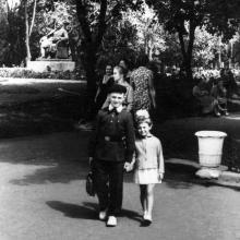 На площади Советской Армии. Одесса. 1961 г.