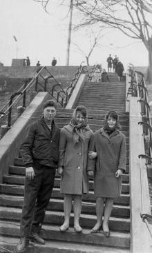 Спуск с ул. Красной гвардии. Одесса. 1966 г.
