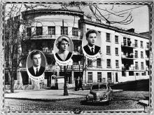 Общежитие ОИИМФа на ул. Комсомольской, 59. Одесса. 1960 г.