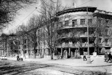 Общежитие ОИИМФа на Комсомольской улице, 59. Одесса. 1965 г.