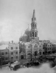 Ильинский собор. Одесса. 1900-е годы