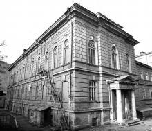Южное крыло старого корпуса ОИИМФа. Одесса