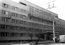 Проспект Шевченко, 12. Здание «Черноморниипроект». Октябрь 1967 г.